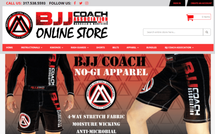 Brazilian Jiu Jitsu Accessories Store